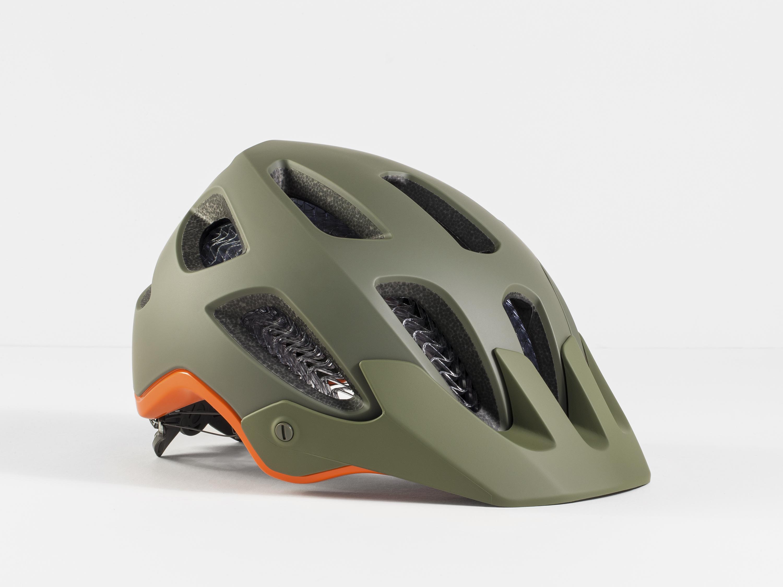 MTB-Helm Bontrager Rally WaveCel olivgrün