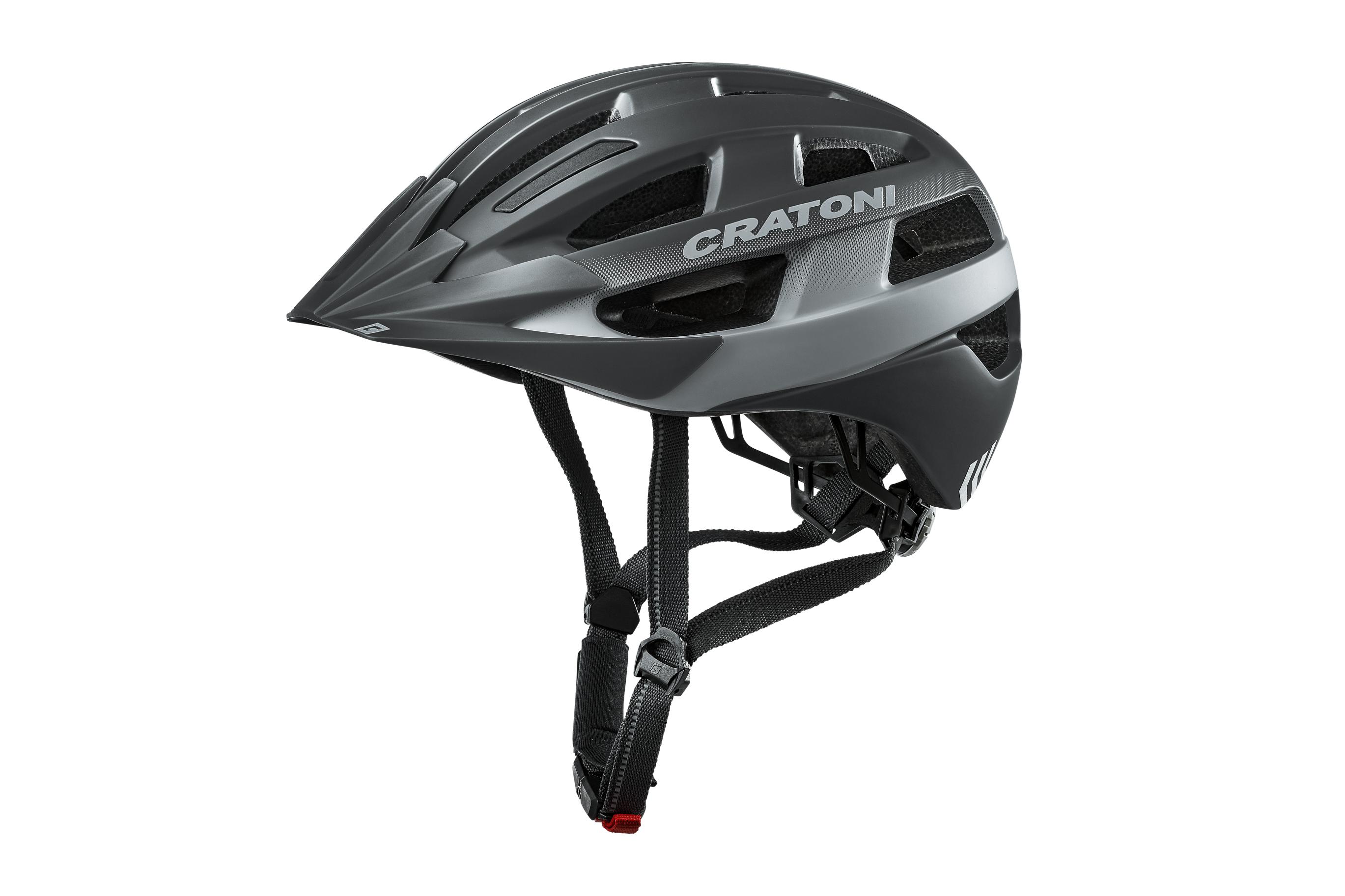 Fahrradhelm Cratoni Velo-X schwarz matt