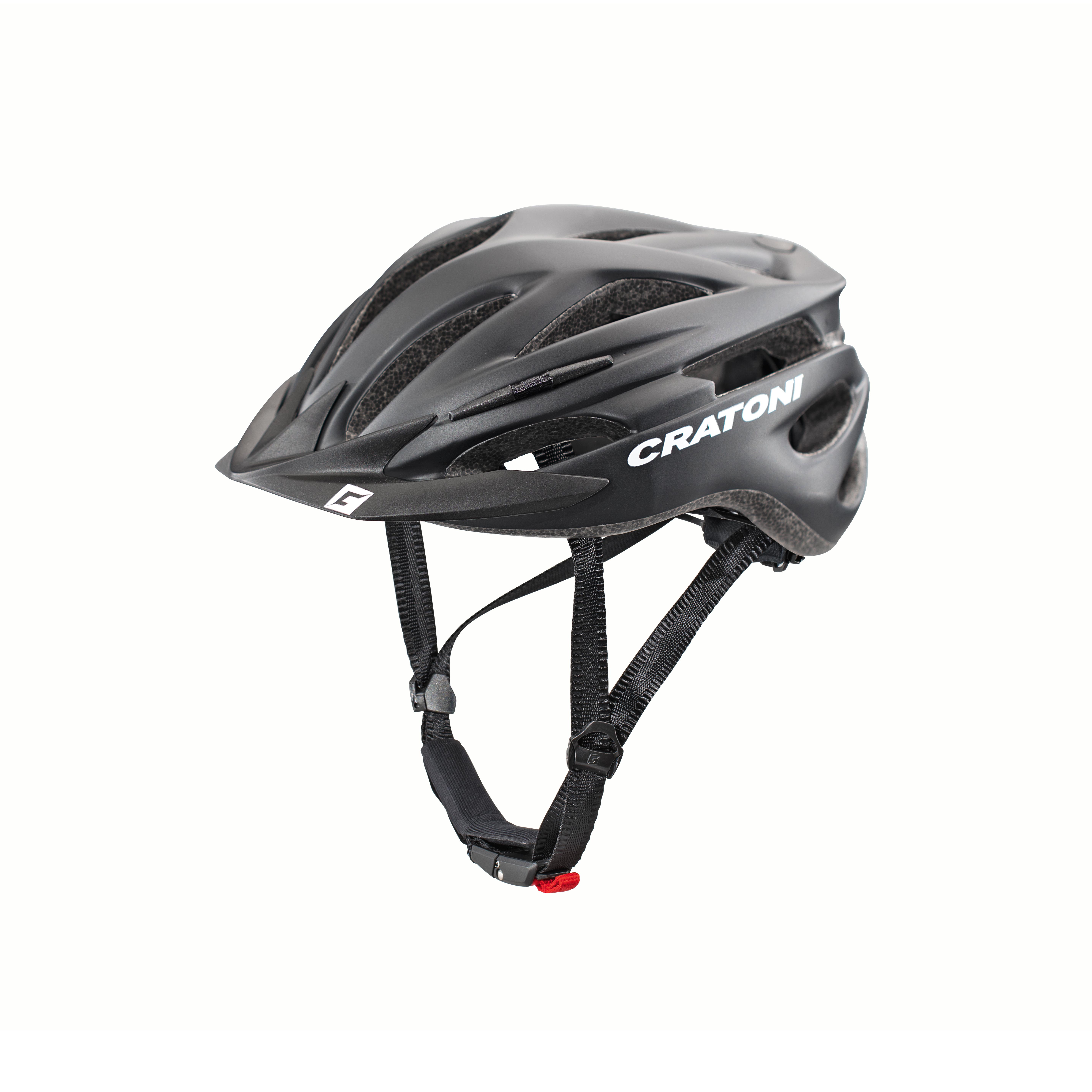 Fahrradhelm Cratoni Pacer schwarz matt