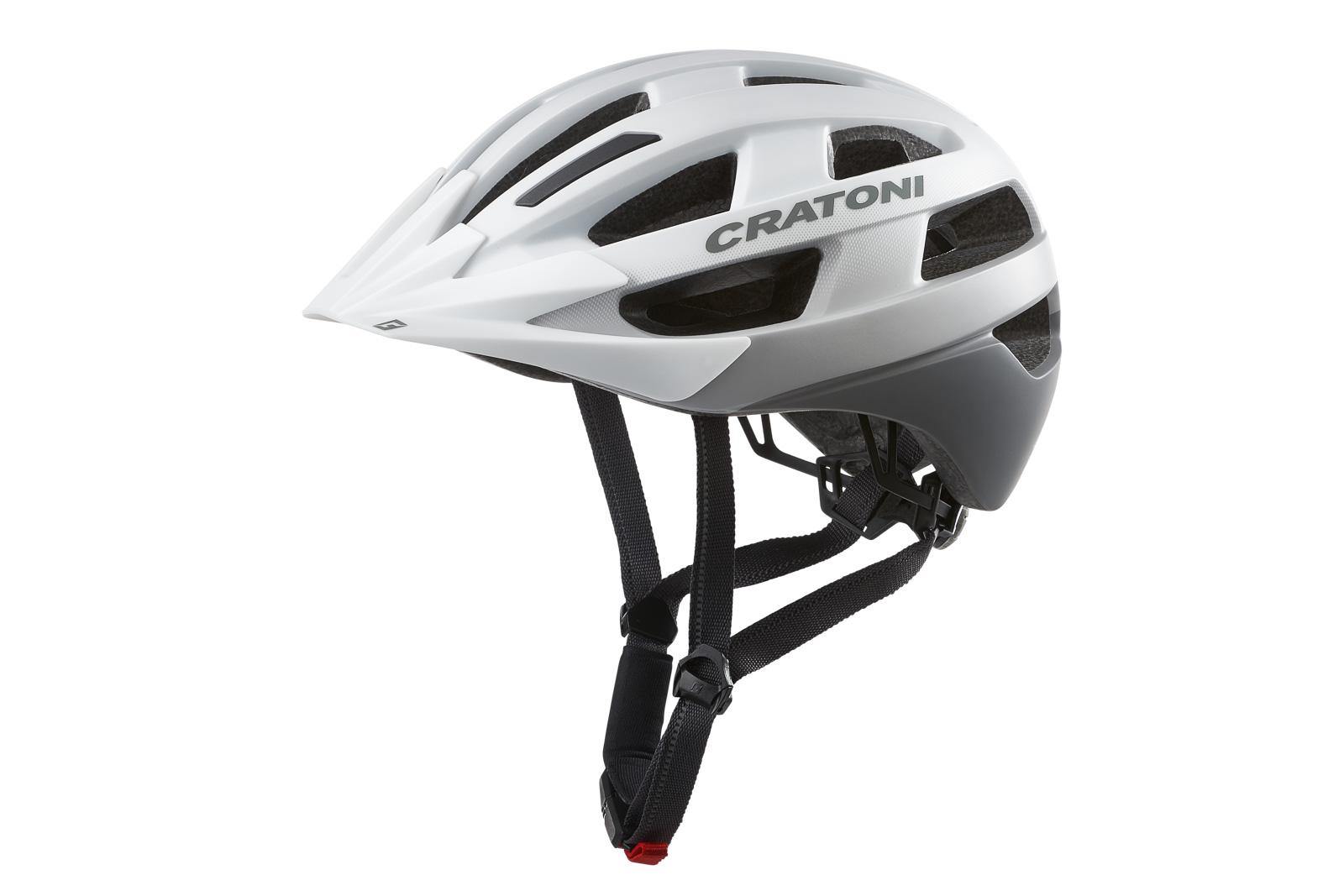 Fahrradhelm Cratoni Velo-X weiß matt