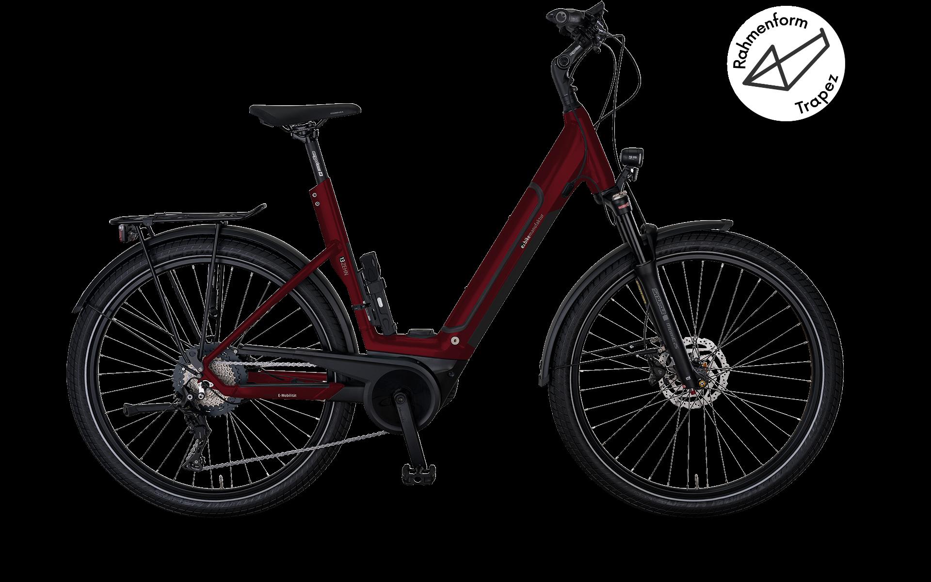 e-bike manufaktur 13ZEHN Trapez Shimano Deore XT 11-Gang